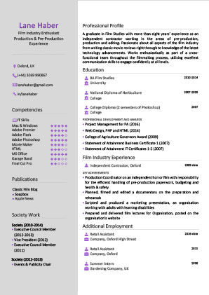 James Innes Group - The CV Centre - United Kingdom (GB) - CV Resume Example 3
